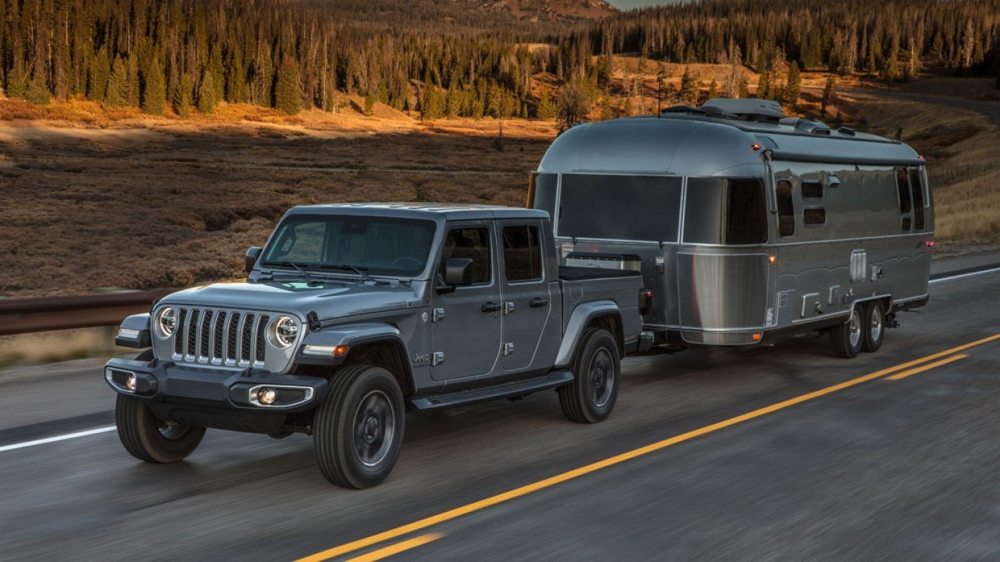 2020 Jeep Gladiator Front Gray Exterior Side