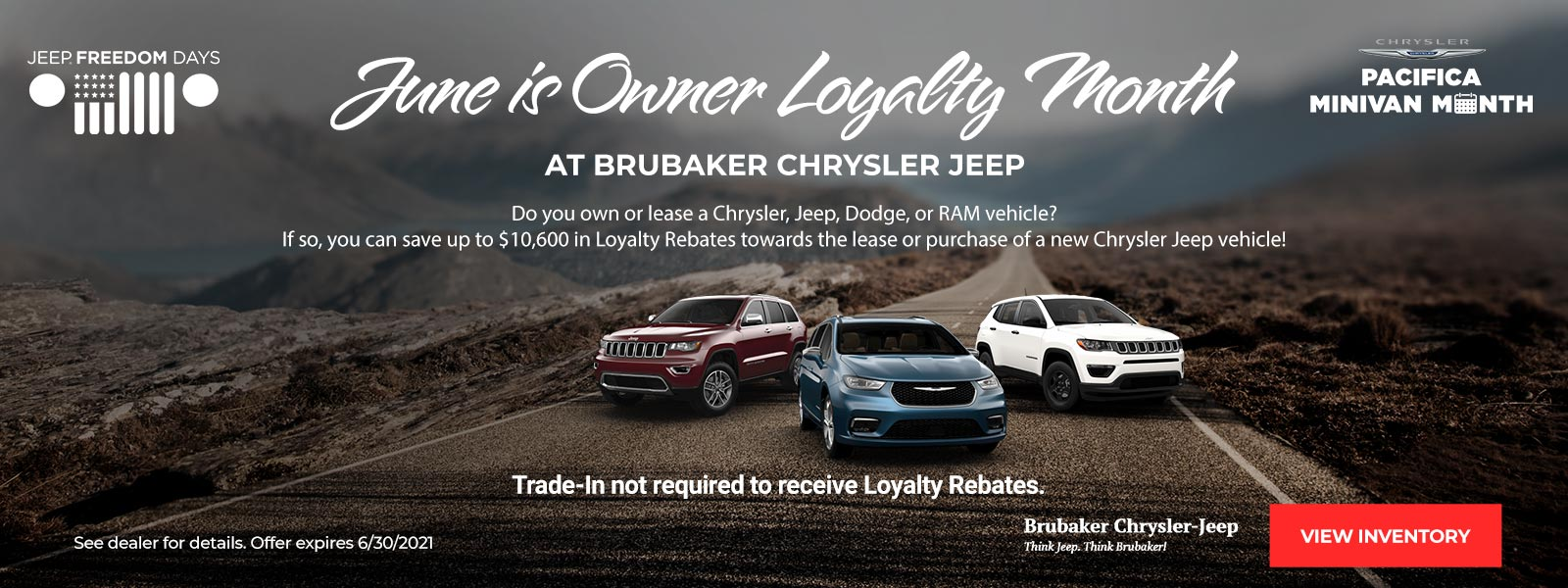 Owner Loyalty Month